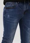 Niebieskie Jeansy Slim Brightlight
