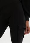 Czarne Spodnie Catbelle