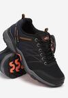 Czarno-Pomarańczowe Buty Sportowe Eagleshadow