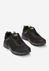 Czarno-Zielone Buty Sportowe Eagleshadow