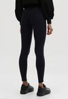 Granatowe Spodnie Skinny Nightgazer