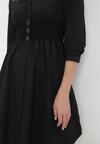 Czarna Sukienka Wyvernfall
