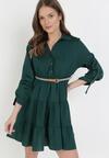 Zielona Sukienka Fogmane