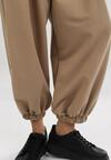 Jasnobeżowe Spodnie Frozensing
