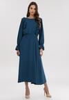 Niebieska Sukienka Roughhair