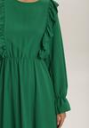 Zielona Sukienka Roughhair
