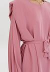 Różowa Sukienka Runefall