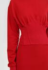 Czerwona Sukienka Quirieth