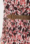 Różowa Sukienka Grasshair