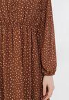 Brązowa Sukienka Truthgust