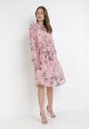 Różowa Sukienka Amberwish