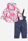 2-Cześciowy Granatowo-Różowy Komplet Bubbleflip