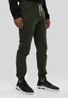 Ciemnozielone Spodnie Joggery Parsleybutton