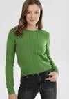 Zielony Sweter Rhouz
