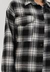 Czarno-Biała Koszula Heitoris