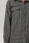 Biało-Czarna Koszula Heitoris
