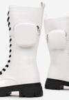 Białe Botki Orihorn
