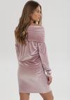 Jasnoróżowa Sukienka Mormenor