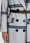 Jasnoniebieski Płaszcz Ysemxiron