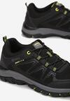 Czarno-Zielone Buty Sportowe Mathews