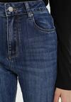 Niebieskie Jeansy Straight Jinthion