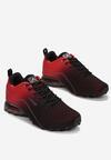 Czarno-Czerwone Buty Sportowe Alcidisee