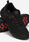 Czarno-Czerwone Buty Sportowe Nevertoad