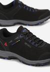 Czarno-Niebieskie Buty Sportowe Highless