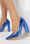 Niebieskie Czółenka Delshera