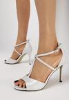 Srebrne Sandały Rios