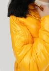 Żółta Kurtka Dwustronna Catvalley