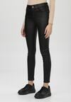 Czarne Spodnie Skinny Sharnila
