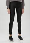Czarne Spodnie Skinny Fyrelvyn