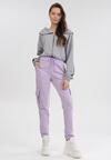 Jasnofioletowe Spodnie Phirelia