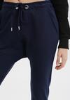 Granatowe Spodnie Dresowe Peilophi