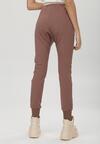 Ciemnobrązowe Spodnie Dresowe Peilophi