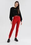Czerwone Spodnie Dresowe Peilophi
