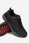 Czarno-Czerwone Buty Sportowe Nalise