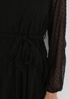 Czarna Sukienka Roseflash