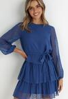 Niebieska Sukienka Roseflash