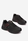 Czarno-Czerwone Buty Sportowe Therene