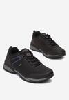 Czarno-Niebieskie Buty Sportowe Therene
