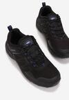 Czarno-Niebieskie Buty Sportowe Neamemeni