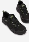 Czarno-Zielone Buty Sportowe Neamemeni