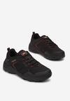 Czarno-Czerwone Buty Sportowe Neamemeni