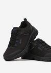 Czarno-Niebieskie Buty Sportowe Phelinai