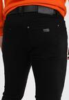 Czarne Spodnie Slim Pisiriko