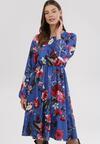 Ciemnoniebieska Sukienka Amalinei