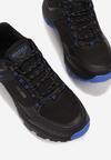 Czarno-Niebieskie Buty Sportowe Salomene