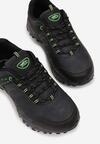 Granatowo-Zielone Buty Sportowe Shadebraid